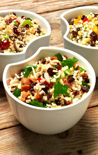Prune Rice Salad