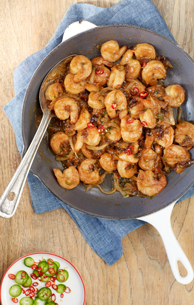Chili Shrimp Stir-Fry