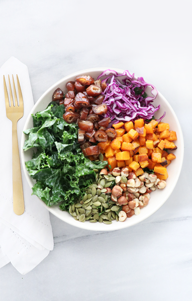 Winter Date Salad