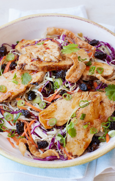 Five Spice Chicken and Prune Salad